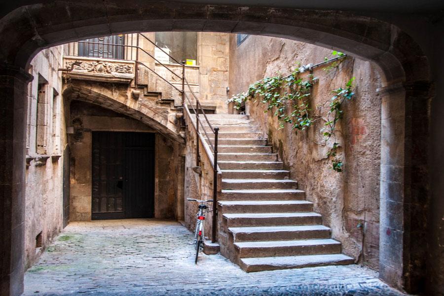 Еврейский квартал Иль-Калль в Жироне
