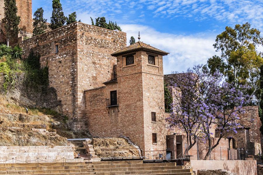 Алькасаба в Малаге