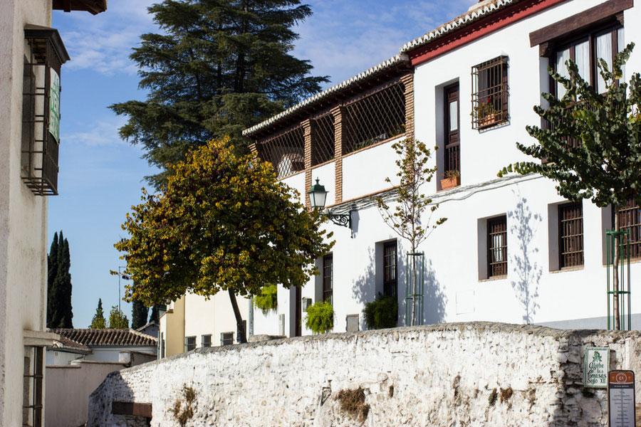 Квартал Альбайсин в Гранаде