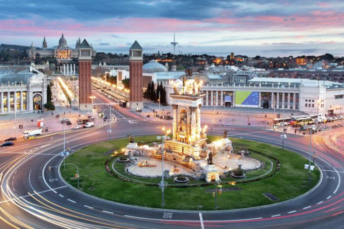 Площадь Испании в Барселоне
