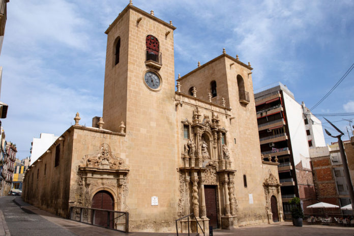 Базилика Санта-Мария в Аликанте