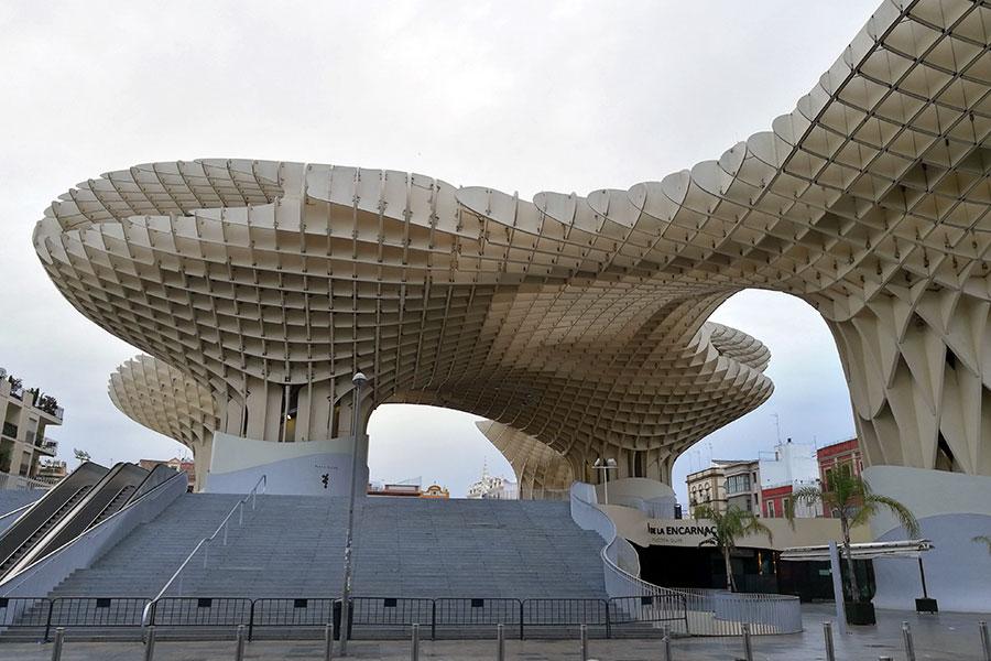 Метрополь Парасоль в Севилье