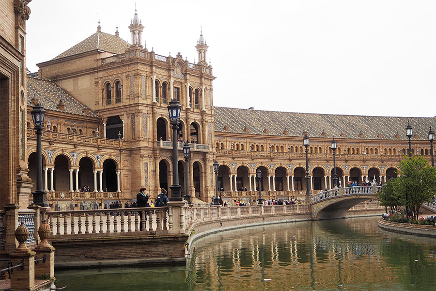 Площадь Испании в Севилье
